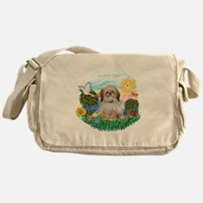 Happy Day Shih Tzu (P) Messenger Bag