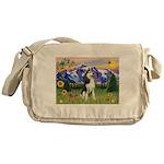 Mt Country & Husky Messenger Bag
