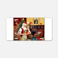 Santa's Sloughi Aluminum License Plate