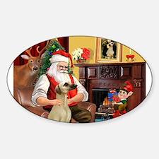 Santa's Sloughi Decal