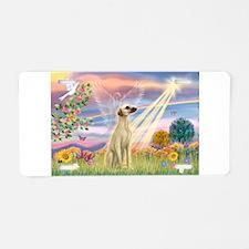 Cloud Angel & Sloughi Aluminum License Plate