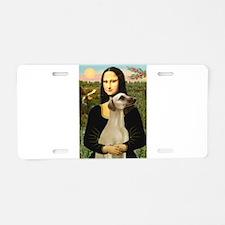 Mona Lisa's Sloughi Aluminum License Plate