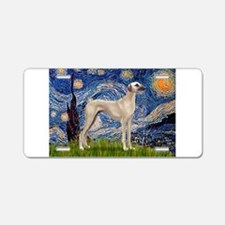 Starry Night Sloughi Aluminum License Plate