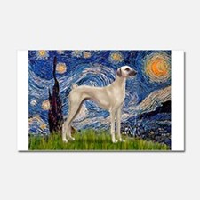 Starry Night Sloughi Car Magnet 20 x 12