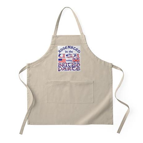 USA/Brit Parts BBQ Apron
