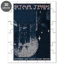 Retro Star Trek:ENT Poster Puzzle
