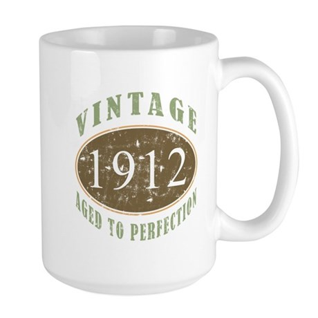 Vintage 1912 Aged To Perfection Large Mug