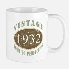 Vintage 1932 Aged To Perfection Small Small Mug