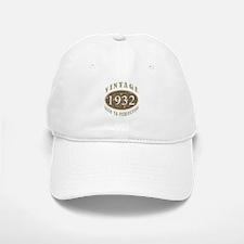 Vintage 1932 Aged To Perfection Baseball Baseball Cap