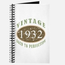 Vintage 1932 Aged To Perfection Journal