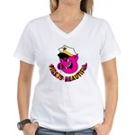 Pigs is Beautiful Women's V-Neck T-Shirt