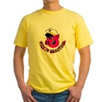 Pigs is Beautiful Yellow T-Shirt