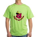 Pigs is Beautiful Green T-Shirt