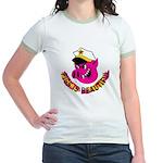 Pigs is Beautiful Jr. Ringer T-Shirt