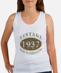 Vintage 1937 Aged To Perfection Women's Tank Top