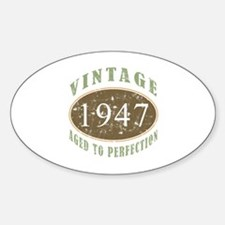 Vintage 1947 Aged To Perfection Decal