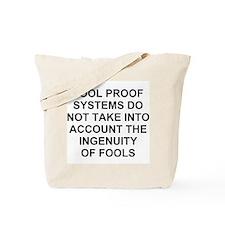 Ingenuity of Fools Tote Bag