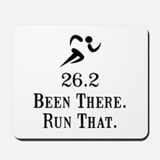 26.2 Been There Run That Mousepad