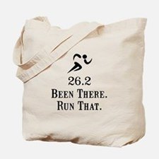 26.2 Been There Run That Tote Bag