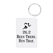 26.2 Been There Run That Keychains