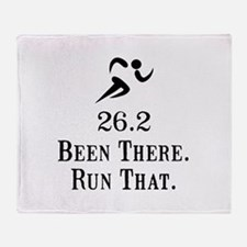 26.2 Been There Run That Throw Blanket