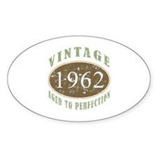 Vintage 1962 Aged To Perfection Decal