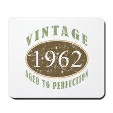 Vintage 1962 Aged To Perfection Mousepad