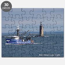 Maine Lighthouse Puzzle