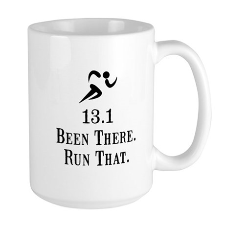 13.1 Been There Run That Large Mug