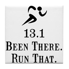 13.1 Been There Run That Tile Coaster