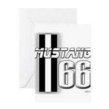 Mustang 66 Greeting Card