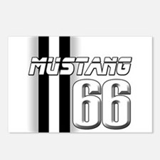 Mustang 66 Postcards (Package of 8)