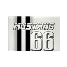 Mustang 66 Rectangle Magnet