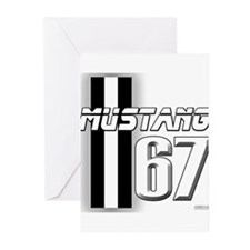 Mustang 67 Greeting Cards (Pk of 10)