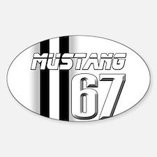 Mustang 67 Decal