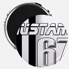 """Mustang 67 2.25"""" Magnet (100 pack)"""