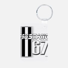 Mustang 67 Keychains
