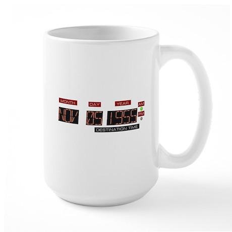 Back to Nov 5 1955 T-Shirt Large Mug