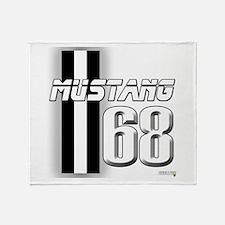 Mustang 68 Throw Blanket