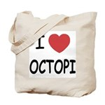 I heart octopi Tote Bag