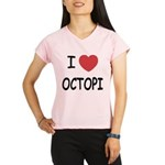 I heart octopi Performance Dry T-Shirt