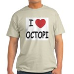 I heart octopi Light T-Shirt