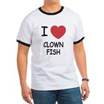I heart clownfish Ringer T