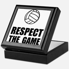 Respect Volleyball Keepsake Box