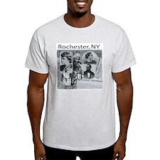 DragonFlyEye.Net Ash Grey T-Shirt