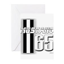 Mustang 65 Greeting Cards (Pk of 10)