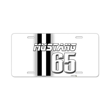 Mustang 65 Aluminum License Plate
