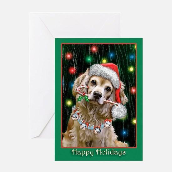 Cocker Spaniel (Blank) Greeting Card
