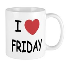 I heart friday Mug