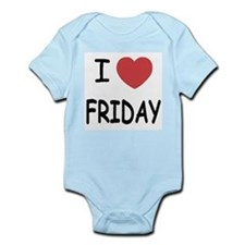 I heart friday Infant Bodysuit